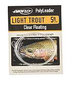 Airflo Polyleader Trout - 10 foot - Clear Floating